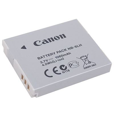 Canon NB6LH Battery Pack