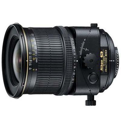 Nikon 24mm f3.5D ED PC-E Lens