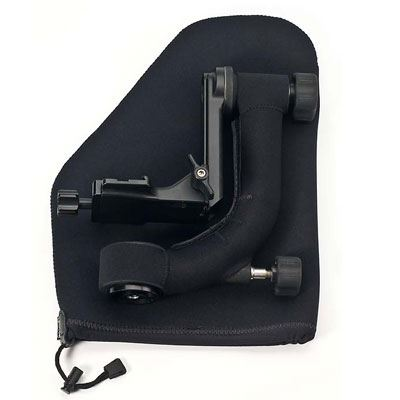 Image of LensCoat Gimbal Head Pouch - Black