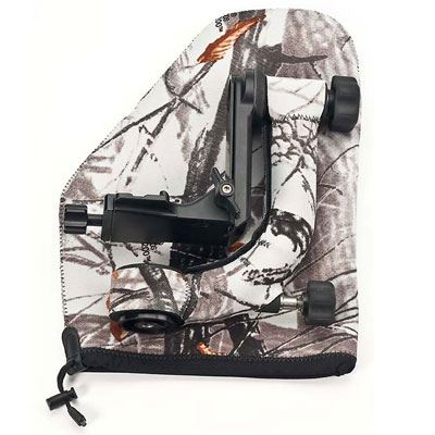 Image of LensCoat Gimbal Head Pouch - Realtree Hardwoods Snow