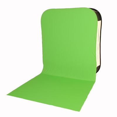 Lastolite HiLite Bottletop Cover With Train 6 x 7ft - Chromakey Green