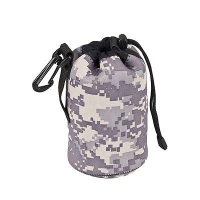 LensCoat LensPouch Small Wide - Army Digital Camo