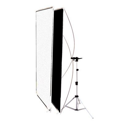 Image of Interfit INT271 Black/White Flat Panel Reflector and Stand