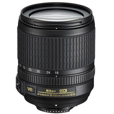 Nikon 18105mm AFS DX Nikkor f3.55.6 G ED VR Lens