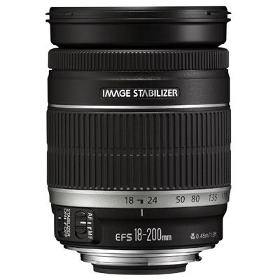 Image of Canon EF-S 18-200mm f/3.5-5.6 IS Telephoto Lens