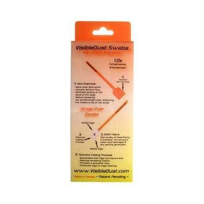 Image of Visible Dust 1.0x Orange Vswabs (12 pack)
