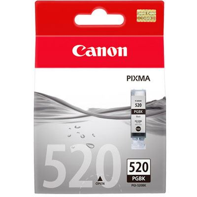 Image of Canon ChromaLife PGI520 Black Ink Cartridge