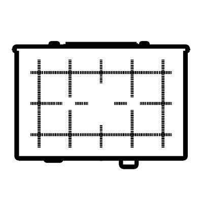Canon Focusing Screen EgD Grid Precision Matte
