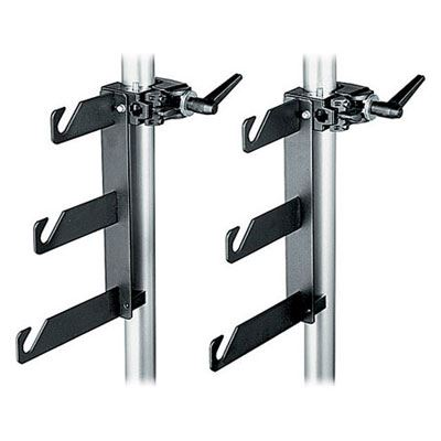 Manfrotto 044 Triple Background Hook Set with Clamps