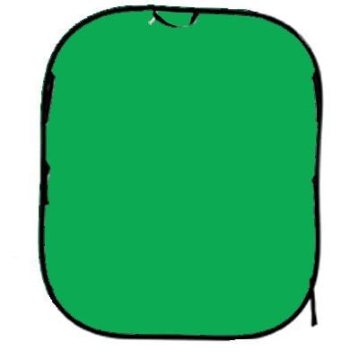 Image of Lastolite Collapsible Background 1.8 x 2.1m - Chromakey Green
