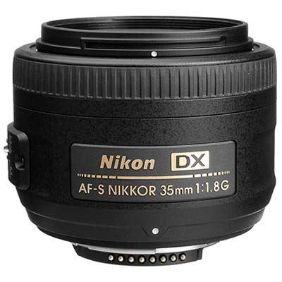 Nikon 35mm f1.8 G AFS DX Lens