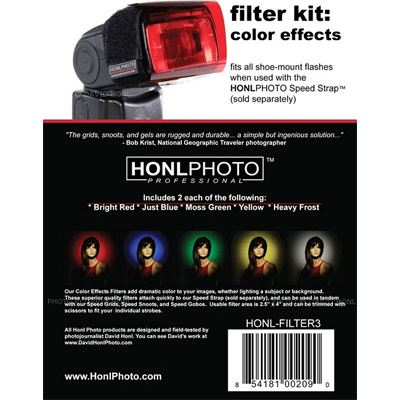 Image of Honl HP-Filter 3 Colour Effects Kit