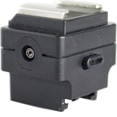 Image of Interfit Strobies Sony/Minolta to Standard Hotshoe Adapter Sync Jack
