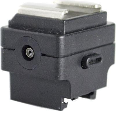Interfit Strobies Sony/Minolta to Standard Hotshoe Adapter Sync Jack