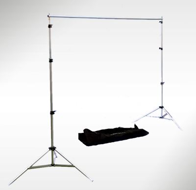 Image of Interfit Background Support with Telescopic Crossbar - Small