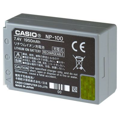 Casio NP100DCA Battery