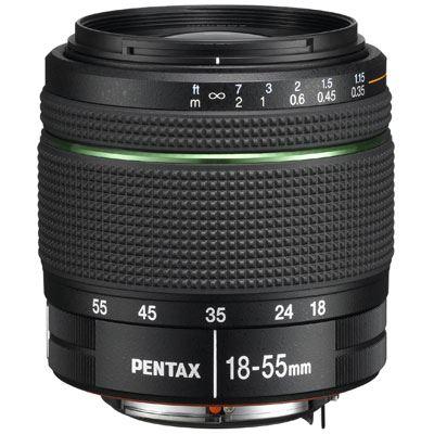 Image of Pentax 18-55mm f3.5-5.6 DA AL WR Lens