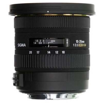 Sigma 10-20mm F3.5 EX DC HSM Lens - Canon Fit