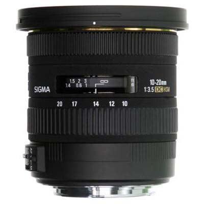 Image of Sigma 10-20mm F3.5 EX DC HSM - Sigma SA Fit