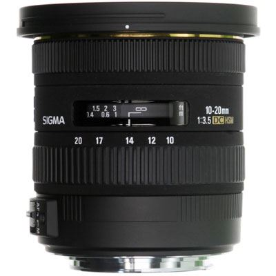 Sigma 10-20mm F3.5 EX DC HSM - Sony Fit