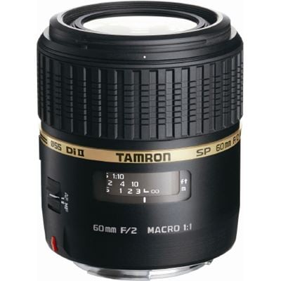 Tamron SP AF 60mm f2 Di II LD (IF) Macro Lens – Canon Fit