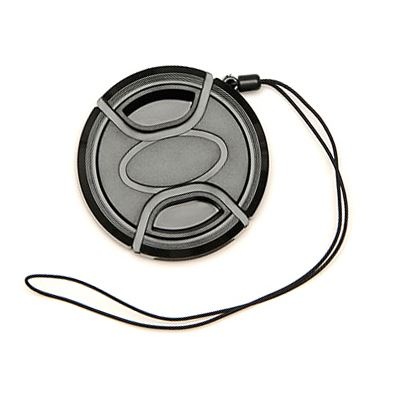 Image of Matin Universal Snap On 55mm Lens Cap with Keeper