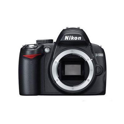Nikon D3000 Digital SLR Camera Body