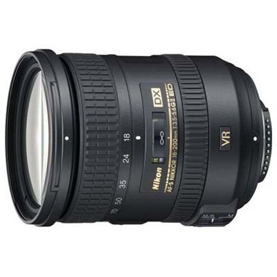 Image of Nikon 18-200mm f3.5-5.6 G AF-S DX ED VR II Lens