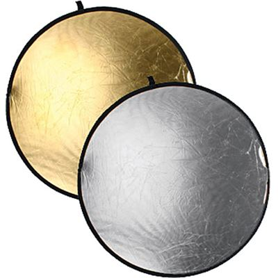 Image of Bowens 80cm Gold/Silver Reflector Disc