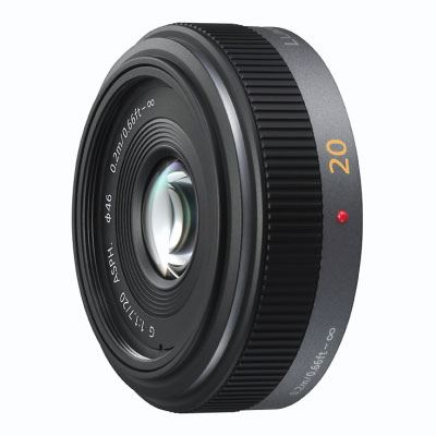 Panasonic 20mm f1.7 LUMIX G Micro Four Thirds Pancake lens