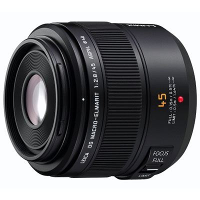 Panasonic 45mm f2.8 Macro Leica D Vario- Elmar Micro Four Thirds lens