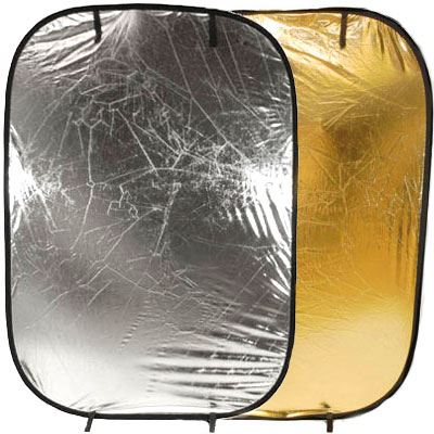 Image of Lastolite Collapsible Panelite Reflector 1.2 x 1.8m - Silver / Gold