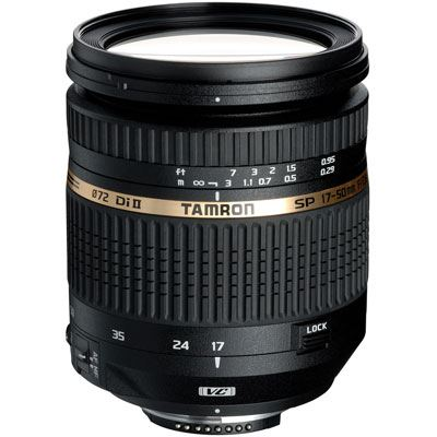 Tamron 17-50mm f2.8 XR Di II VC Lens – Canon Fit