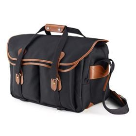 Billingham 555 - Black / Tan