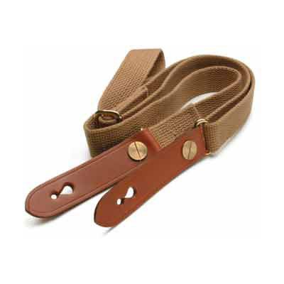 Billingham Waist Strap and Attachment - Black/Tan