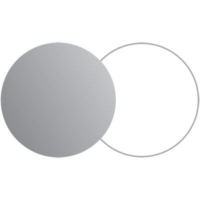 Lastolite Collapsible Reflector 30cm - Silver / White