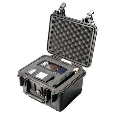 Peli 1300 Case with Foam Black