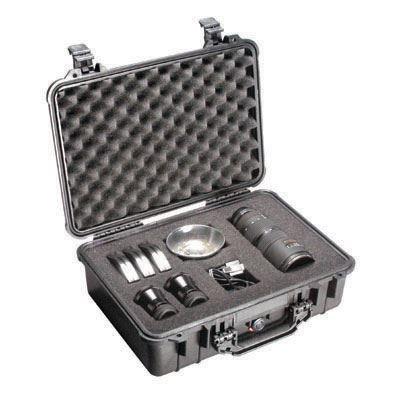 Peli 1500 Case with Foam - Black