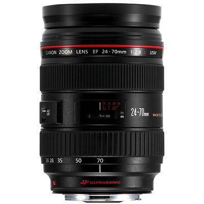 Canon EF 24-70mm f2.8 L USM Lens