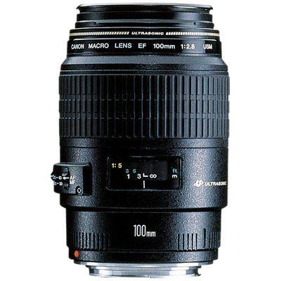Image of Canon EF 100mm f2.8 USM Macro Lens