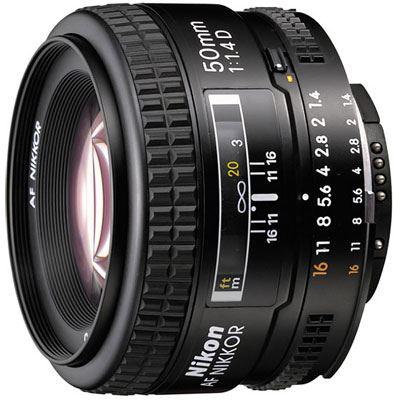 Nikon 50mm f1.4 D AF Lens