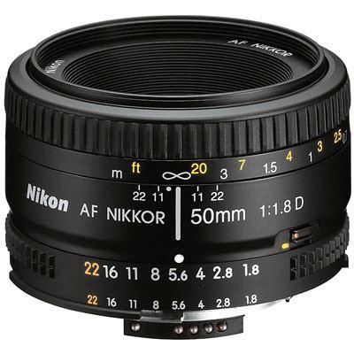 Nikon 50mm f1.8 D AF Lens