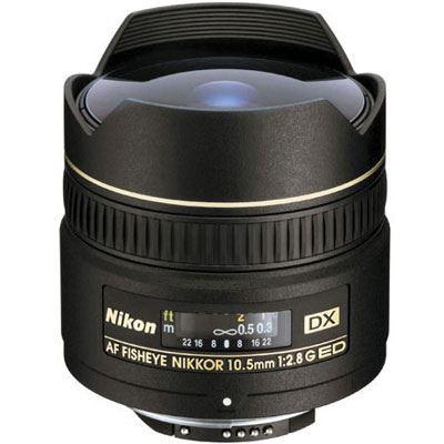 Nikon 10.5mm f2.8 G IFED AF DX Fisheye Lens