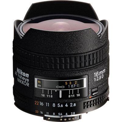 Image of Nikon 16mm f2.8 D AF Fisheye Lens