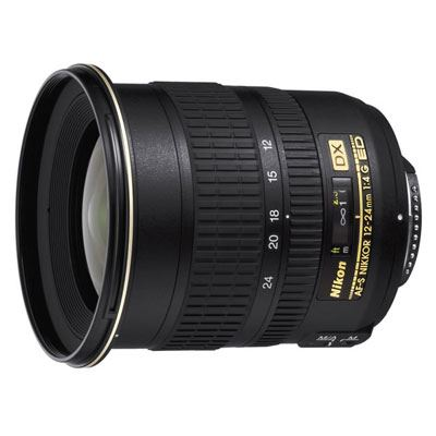Nikon 12-24mm f4 G AF-S IF-ED DX Lens