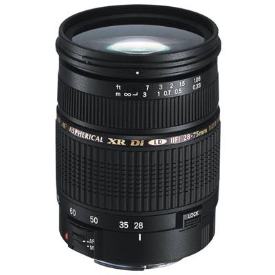 Tamron SP AF 28-75mm f2.8 XR Di Lens - Sony/Minolta Fit
