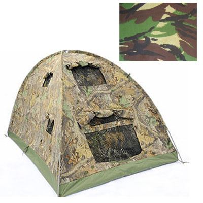 Wildlife Watching Long and Low Dome Hide - C31.1 Camouflage