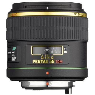 Pentax 55mm f1.4 DA SDM Lens