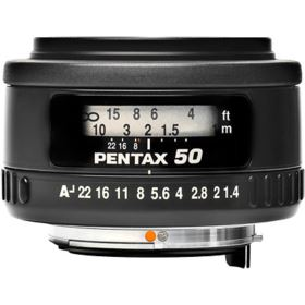 Pentax 50mm f1.4 SMC FA Lens
