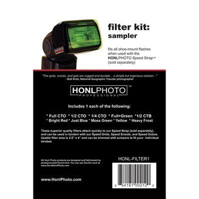 Image of Honl HP-Filter 1 Sampler Filter Kit